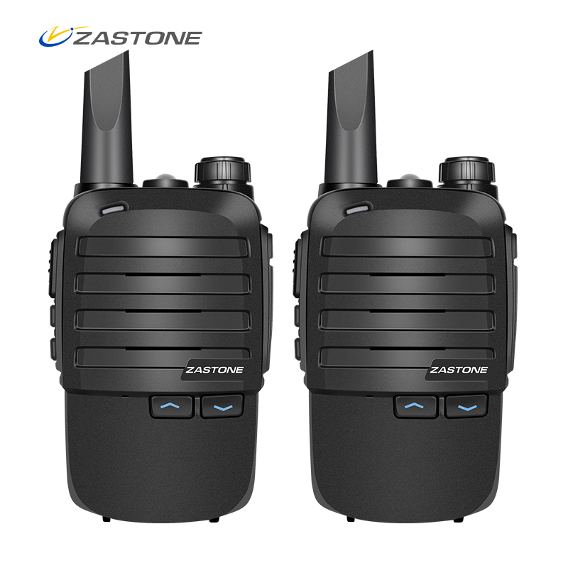 christmas gift 2 in one zastone 100 portable mini walkie talkie uhf 400 480mhz