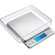 Цифровые кухонные весы мини-Компактные Весы для ювелирных украшений кухонные весы с подсветкой ЖК-дисплей 500g-0,01g/1000g-0,1g/3000g-0,1g