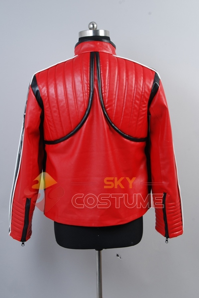 My Chemical Romance Na Na Na Kobra Kid Red Jacket Costume Cosplay Halloween