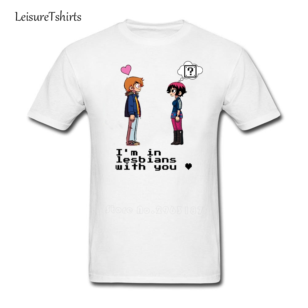 Im black t shirt - I M In Lesbians With You T Shirt Man Summer Cotton Black Tee New Coming