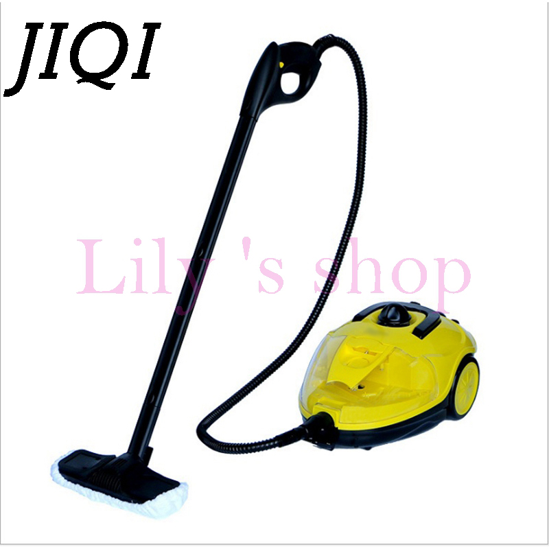 JIQI 1500W 1.5L Multifunctional Steam Cleaner Household electric steaming mop high temperature sterilization water spray Cleaner shanghai kuaiqin kq 5 multifunctional shoes dryer w deodorization sterilization drying warmth