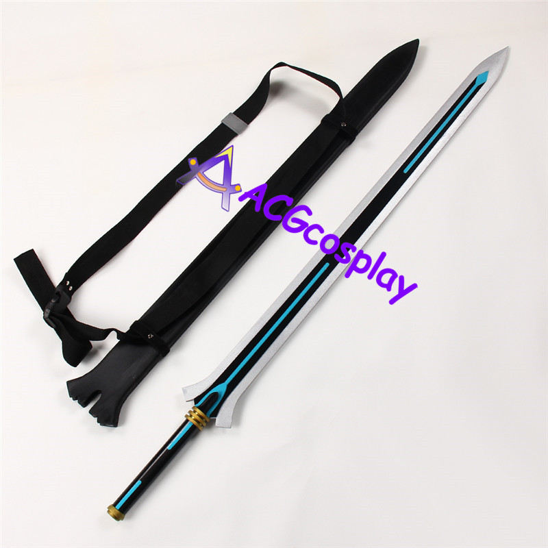 Sword Art Online Ordinal Scale Kirito Sword with Belt Cosplay Prop ACGcosplay