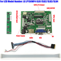 HDMI VGA 2AV LVDS Controller Board + 40 Pins Lvds Cable Kits for LP156WF4 - SLB1/SLB2/SLB3 1920x1080 2ch 6 bit LCD Display Panel