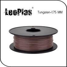 Worldwide Fast Delivery Manufacturer 3D Printer Material 1 kg 2.2lb 20% Metal Powder 1.75mm PLA Tungsten Filament