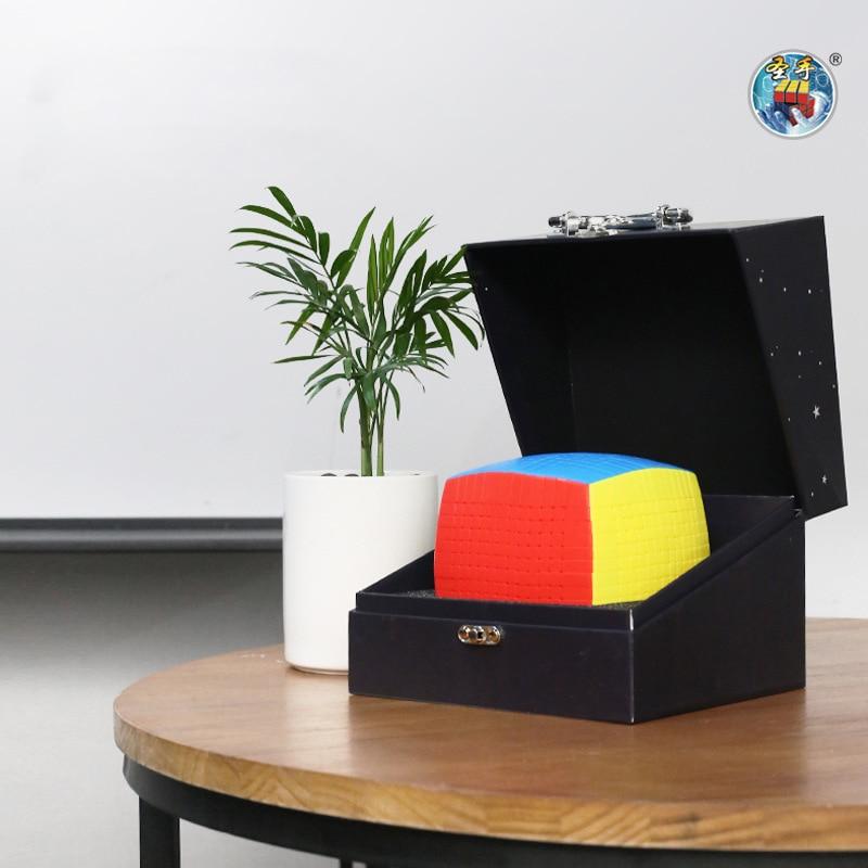 최신 상위 shengshou 13 레이어 128mm 스티커없는 13x13x13 매직 큐브 속도 퍼즐 13x13 큐브 교육 완구 선물 cubo magico-에서매직 큐브부터 완구 & 취미 의  그룹 3