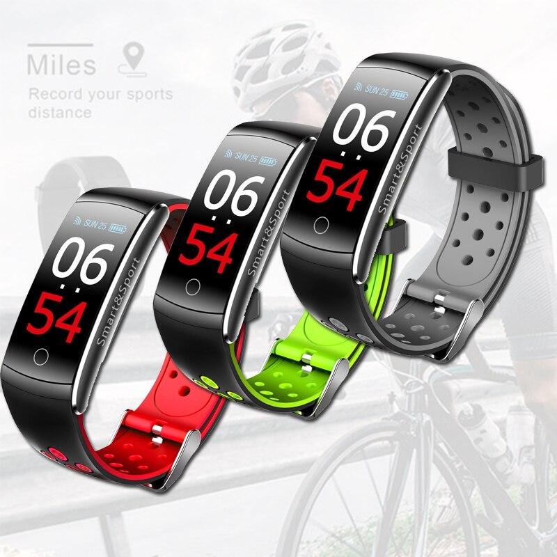 Newest Q8S Smart Watch  Waterproof Heart Rate Blood Pressure Fitness Sport Bracelet