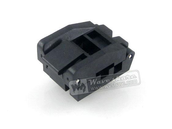 Parts 100% Brand New SOP16 SO16 SOIC16 IC51-0162-1035 Yamaichi IC Test Burn-In Socket Programming Adapter 4.0mm Width 1.27mm Pit sop16 so16 soic16 ic51 0162 271 1 yamaichi ic test burn in socket programming adapter 5 5mm width 1 27mm pitch