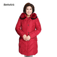 Woman Parka Winter Women Jacket Coat big size 7XL 8XL Fur collar Warm Women Coat High Quality 2019 New Winter Collection