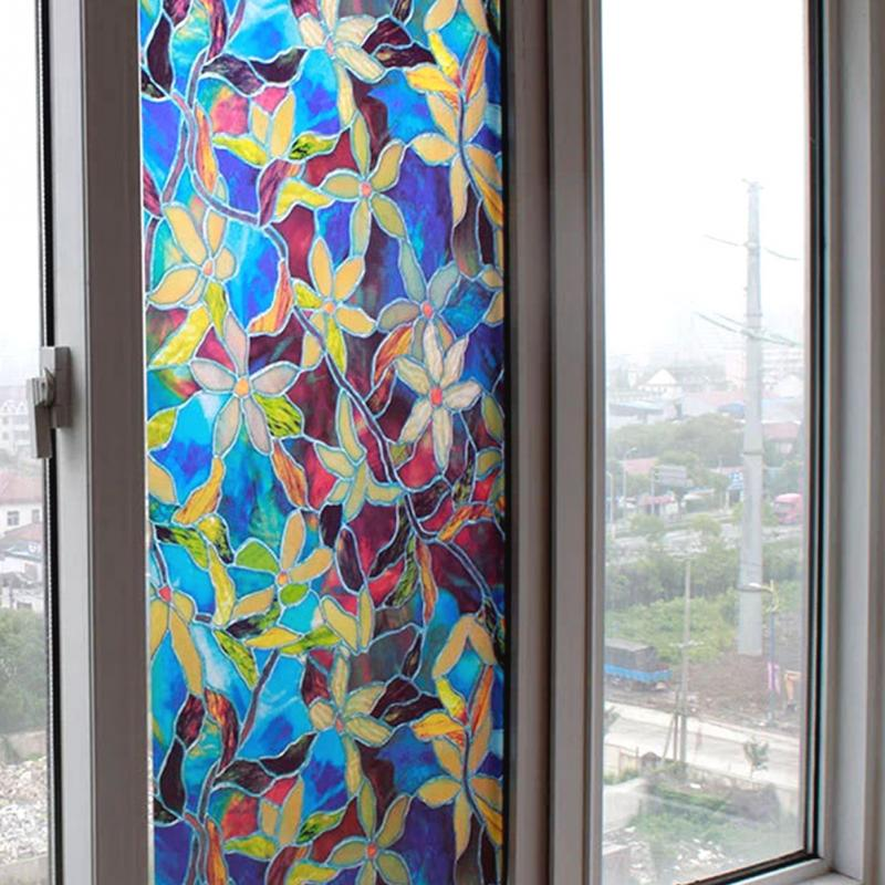 Washroom Toilet Window Film