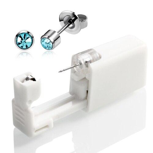 4mm Silver Aqua