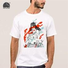 EnjoytheSpirit Cotton Tshirt Sexy Women Piper Design Summer Style Cotton Male Casual T Shirt Man T