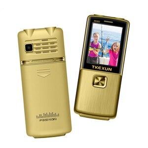 Image 5 - Entsperrt Flip One Key Dual Taschenlampe One Key FM Bluetooth SOS Geschwindigkeit Zifferblatt Whatsapp Alten Mann Senior Metall Handy p210