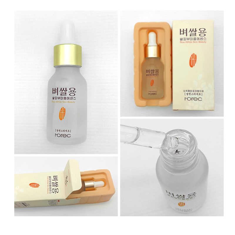 ROREC สีขาวข้าวเซรั่ม essence moisturizing ต่อต้านริ้วรอย anti - allergy face Intensive Face Lifting deep Firming เจล