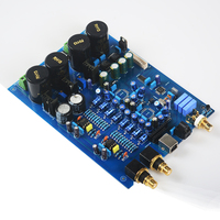 AK4497 HIFI AUDIO USB DAC decoder board (without AK4497 chip) AK4118 NE5534 DIY power amplifier board support DOP DSD
