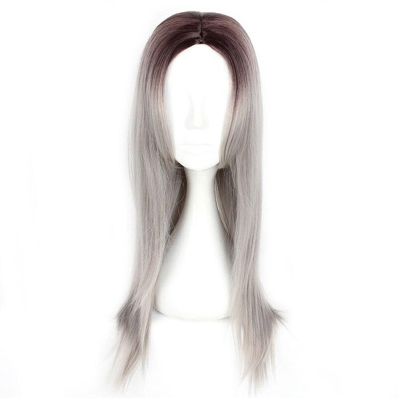 Mcoser 70CM սինթետիկ մոխրագույն - Սինթետիկ մազերը