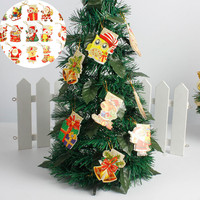 240 Pcs Christmas Greeting Wish Cards For Xmas Tree Pendant Hanging Ornaments