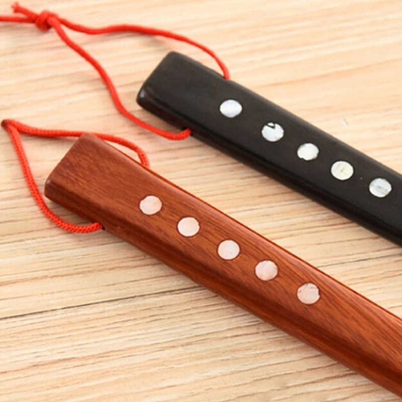 55 cm nueva llegada Ultra largo Mahogany Craft Wenge zapato de madera cuerno profesional de madera de mango largo zapato levantador de cuerno