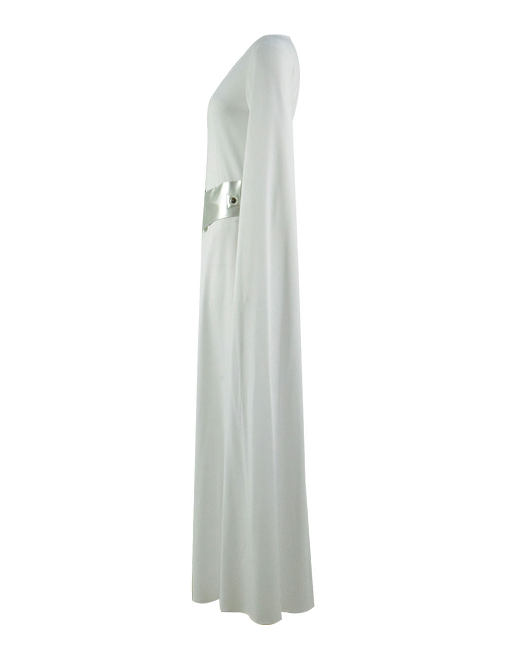Princess Leia Cosplay costume white Dress clothes Full Set CosDaddy