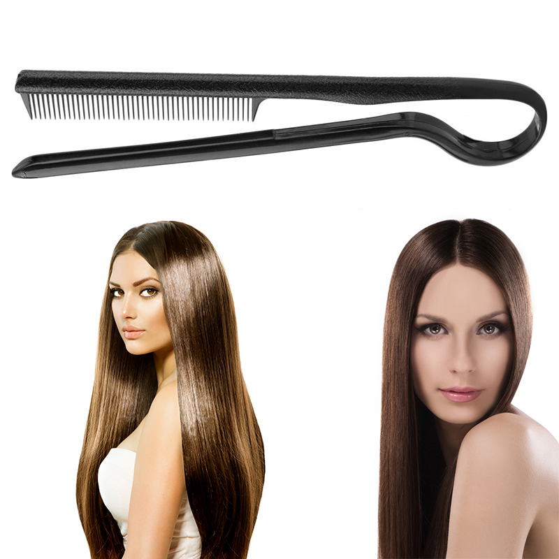 Fashion Hair Combs V Type Hair Straightener Comb DIY Salon Haircut Hairdressing Styling Tool Anti-static Combs Brush