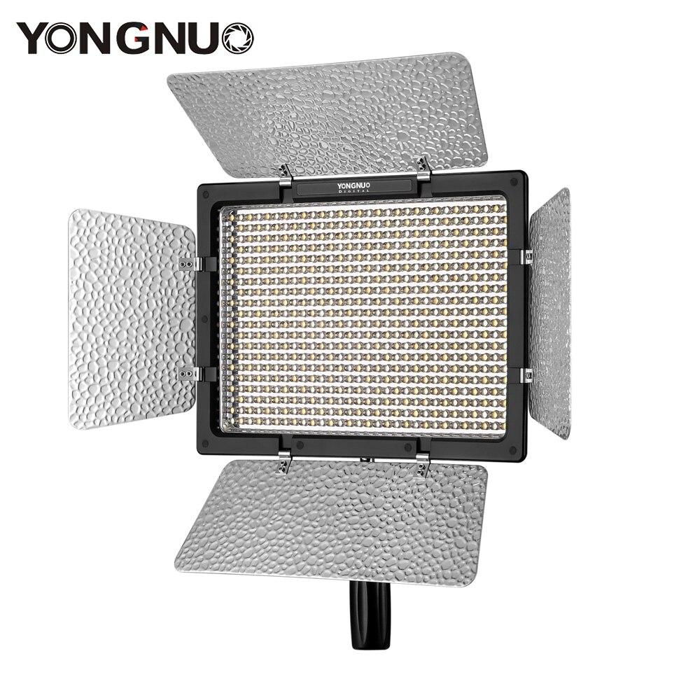 YONGNUO YN600L LED Video Light Panel 3200K 5500K Video Light Lamp Color Adjustable Temperature for Canon
