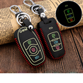 Real Leather Car Key Covers Luminous Key Case Holder Car Accessories for Haval H6 H5 H3 H2 H9 M4 Tabanca Silah Korna Car-styling