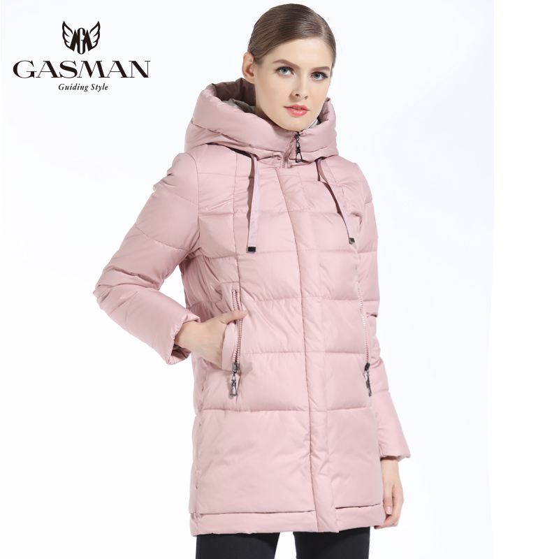 New Winter Fashion Winter Down Jacket Coat Women Medium Length Hooded Thick Down   Parka   Winter Coat Women Winer Clothes Overcoat