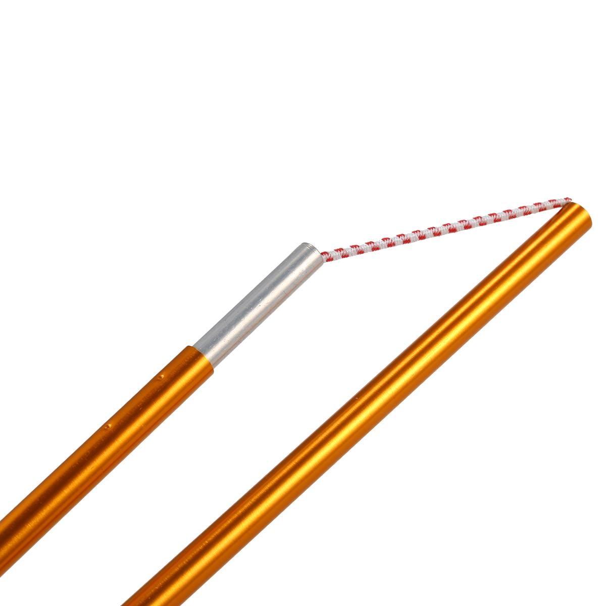 Haste De Alumínio Tenda Pólos ShineTrip 2 Pacote Barra de Liga de Acessórios de Construção Apoio Pólo Vara de Pau Da Barraca Toldo Quadros Kit Para hik