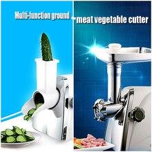 1 шт. Новый Многофункциональный Мясорубка/овощерезка Кулинария машина бытовых электрических основа нержавеющей мясорубка