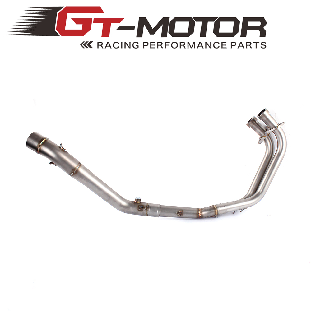 ФОТО GT Motor - Exhaust Full system FOR YAMAHA R25 R3 2014-2016 without exhaust