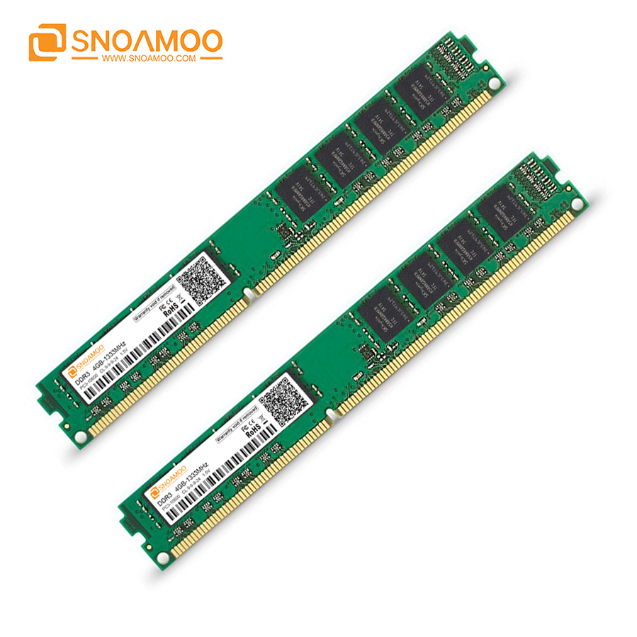Snoamoo Ram Ddr3 4gb 1333mhz 1600 Mhz 2gb Pc3 12800 10600 Memori Pc Memoria 240pin For Amd Intel Desktop Motherboard In Rams From Computer Office On