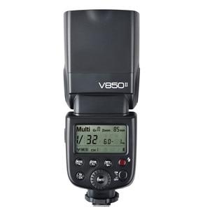 Image 5 - Godox V850II 2.4G GN60 Wireless X System Li ion Battery Speedlite for Canon Nikon Sony Pentax Olympus + Free 15*20cm Softbox Kit