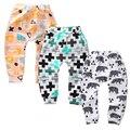 Kawaii Unisex Do Bebê Das Meninas do Menino 100% calças de Algodão macio gorros raposa panda Calças Toddlers animais Calças Infantis Para crianças