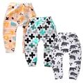 Kawaii Unisex Muchachas Del Bebé 100% Algodón suave pantalones Pantalones fox panda gorros Niños animal Pantalones de los niños De corta edad