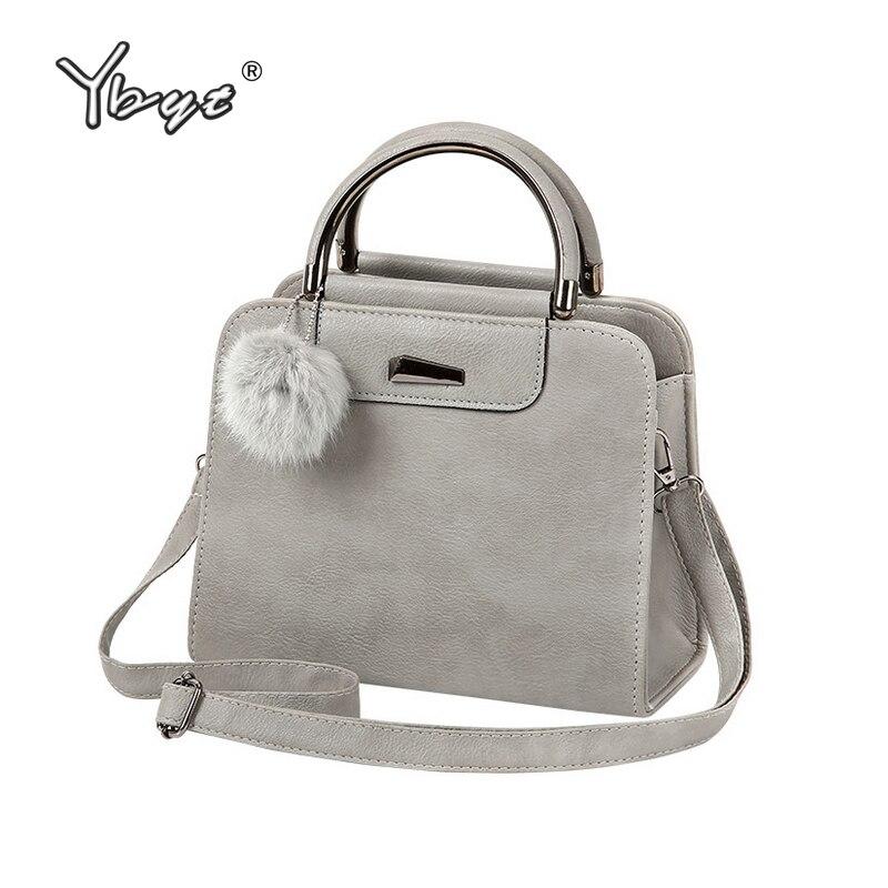YBYT marke 2018 neue vintage beiläufiger PU leder frauen handtaschen hotsale damen kleine einkaufstasche schulter messenger crossbody taschen
