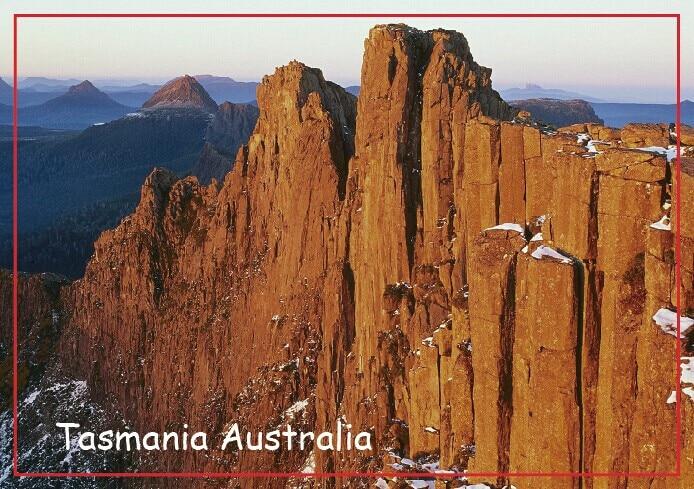 10K Landmarks Magnets Lake Saint Clair National Park Tasmania Australia Travel Refrigerator Magnets 20498 Rectangle 78*54*3 mm
