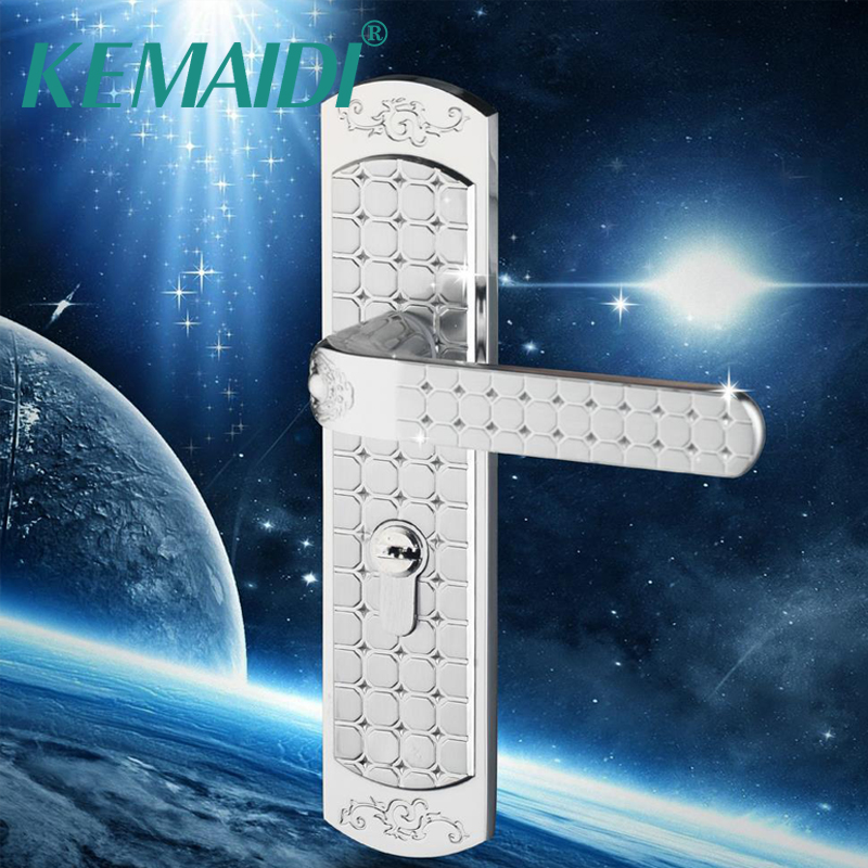 KEMAIDI Hardware Furniture Lock Stainless Steel Door From the Main Door Locks Handle New Safety Wood Gate Floor Lock new sus 304 stainless steel atresia mortice channel invisible locks corridor privacy lock deadbolt invisible door locks f16