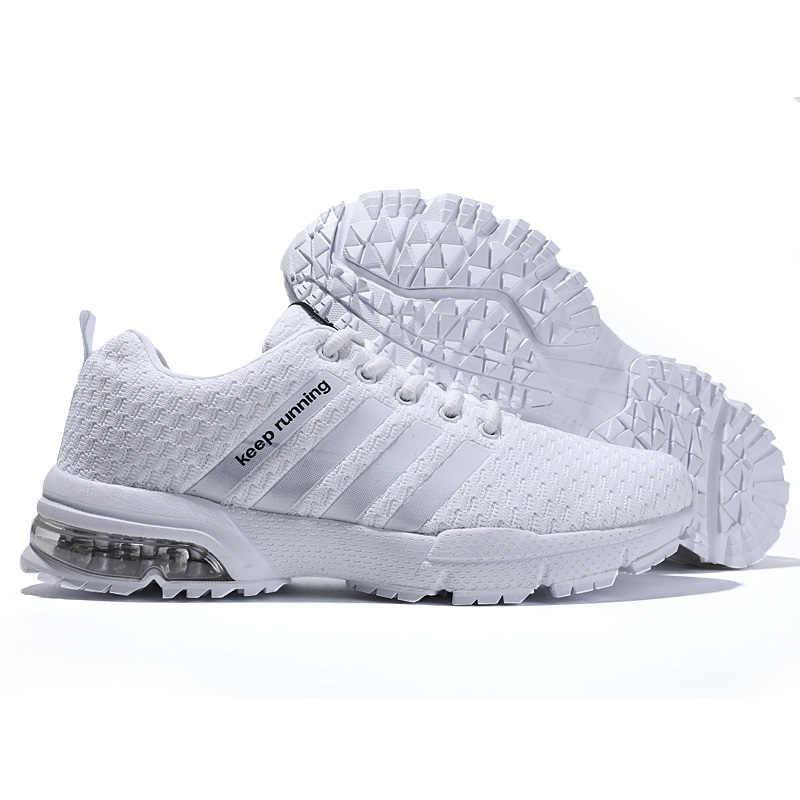 Nuevas zapatillas de deporte para hombre, zapatillas de correr para mujer, zapatillas de tenis transpirables para hombre, zapatos para correr con cordones, calzado atlético para hombre