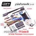 Pixhawk Autopilot PX4 Controller + NEO M8N GPS +4G TF Card/PPM/I2C+ 3DR Radio Telemetry + MiniOSD + Power Module FPV Combo Kit