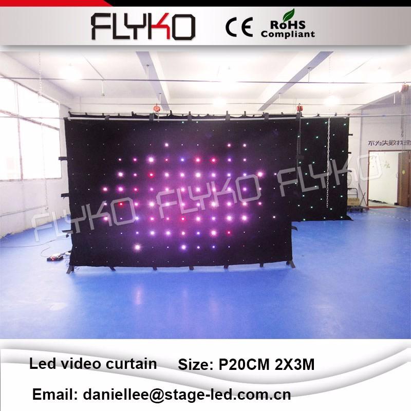 LED video curtain 022