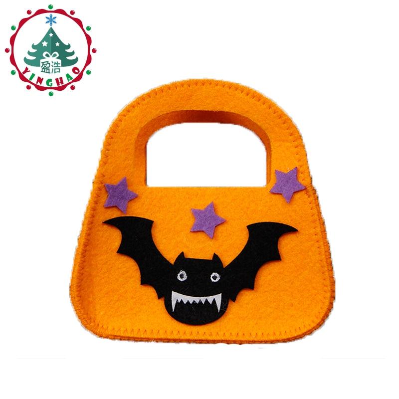 inhoo 2pcs Classic Bat ročne torbe bombonske torbe Halloween okrasne - Prazniki in zabave - Fotografija 4