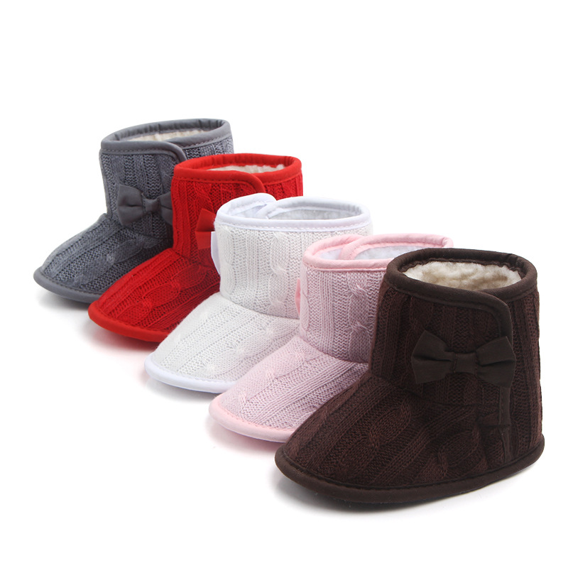 Super Keep Warm Snowfield Booties Baby Winter Boots Infant Toddler For Newborn Cute Shoes Baby Girls Boys First Walkers