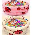 Портативный Жук детские надувные бассейны круглый пластиковый бассейн младенческой дети детский бассейн piscina hinchable