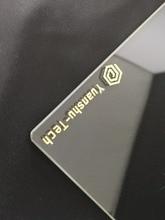 Tevo טרנטולה פלאש 240x240x3mm 3d מדפסת לבנות צלחת 3D מדפסת זכוכית צלחת שני עצים