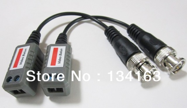 Passive video balun for singel channel VIA CAT5;10Pairs