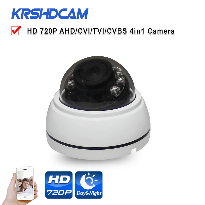720P AHD CCTV Security Camera 1.0MP 2000TVL plastic IR Room dome indoor Video Surveillance IR Night Vision cameras de seguranca hd 1mp ahd security cctv camera 720p indoor dome ir cut 48leds night vision ir color 1080p lens
