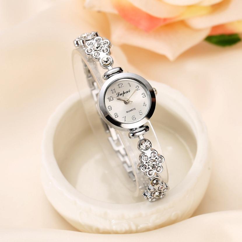 Quartz Wristwatches Watch 2019 relogio masculino LVPAI chaude De Mode De Luxe Femmes Montres Femmes Bracelet Watches Women