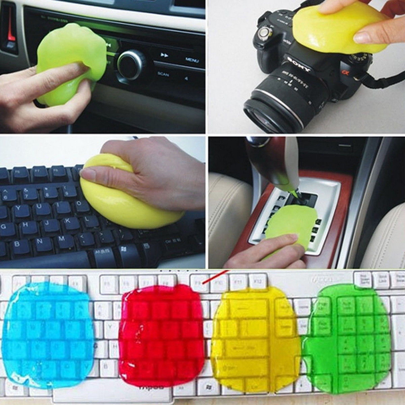 Super Universal Clean Keyboard Computer Cleaner Soft Sticky Magic Glue Gel Dust Dirt For Laptop Phone Car
