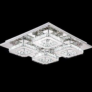 Flush Mount Modern LED Crystal Ceiling Light For Bedroom Living Room Lights Lustre Crystal Ceiling Lamp