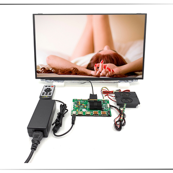 2HDMI+2DP+Audio 4K LCD controller board support 4K 17.3 inch lcd kits with 3840*2160