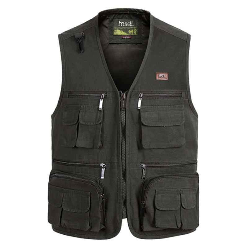 aeProduct.getSubject()  Mens Multi Bag Pockets Out of doors Fishing Vest Strong Shade Photographic Waistcoats for Out of doors Sport Lover HTB18hl5agsSMeJjSsphxh4uJFXaP